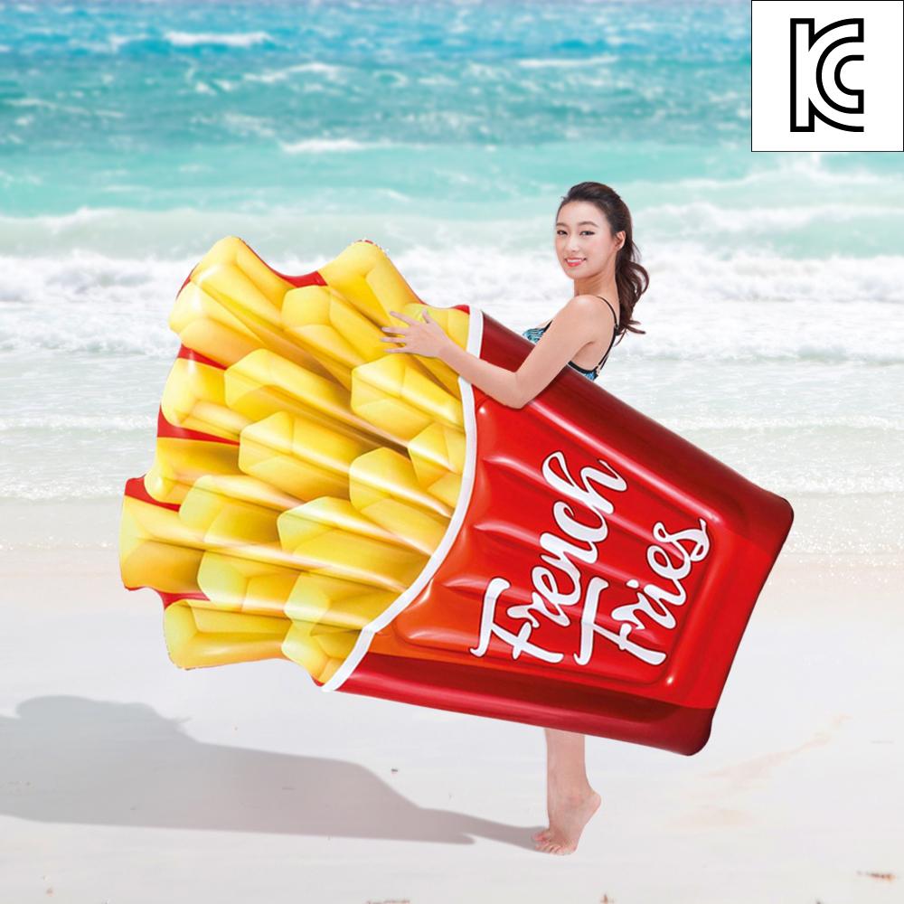 인텍스 감자튀김 대형 튜브 [제작 대량 도매 로고 인쇄 레이저 마킹 각인 나염 실크 uv 포장 공장 문의는 네이뽕]