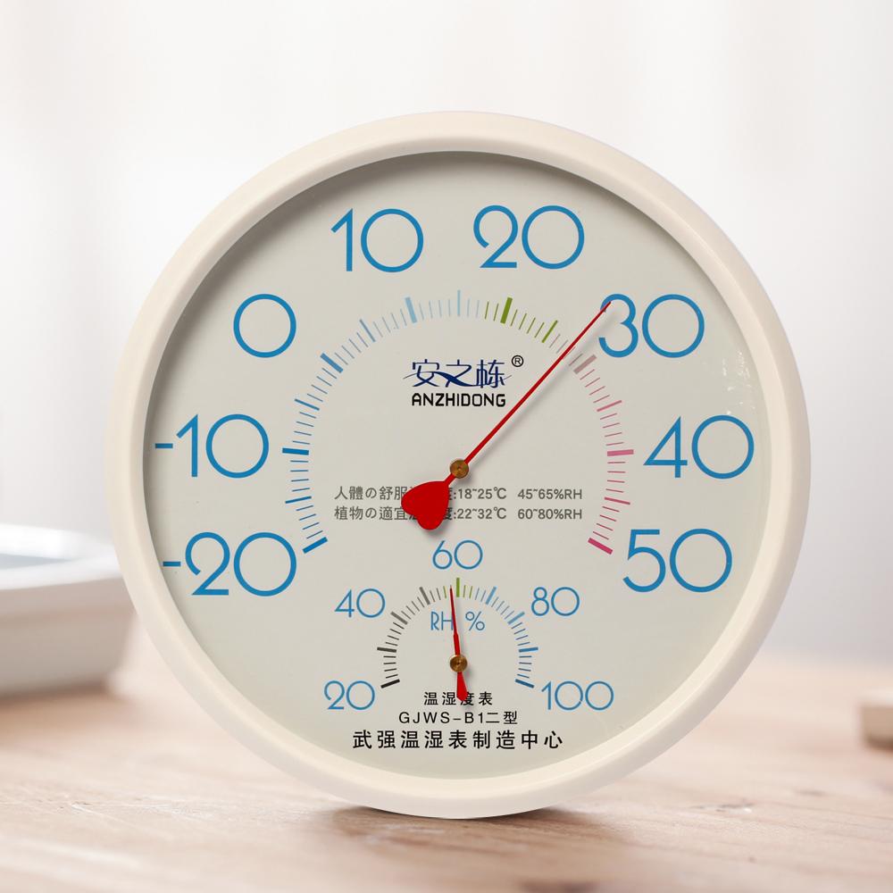 원형 벽걸이 온도계 습도계(화이트) [제작 대량 도매 로고 인쇄 레이저 마킹 각인 나염 실크 uv 포장 공장 문의는 네이뽕]