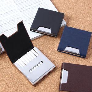 에센스 인조가죽 담배케이스(10개비) [제작 대량 도매 로고 인쇄 레이저 마킹 각인 나염 실크 uv 포장 공장 문의는 네이뽕]