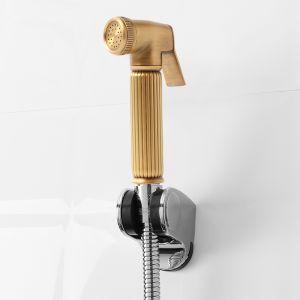 퓨어홈 욕실 스프레이건 호스세트(브론즈) [제작 대량 도매 로고 인쇄 레이저 마킹 각인 나염 실크 uv 포장 공장 문의는 네이뽕]