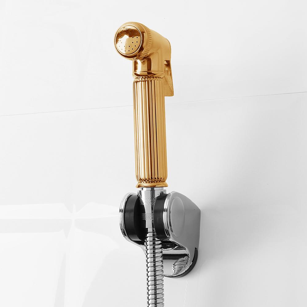 퓨어홈 욕실 스프레이건 호스세트(골드) [제작 대량 도매 로고 인쇄 레이저 마킹 각인 나염 실크 uv 포장 공장 문의는 네이뽕]