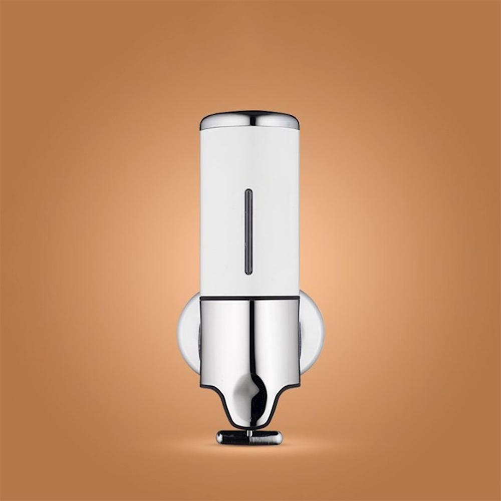 퓨어홈 물비누 디스펜서(500ml) (화이트) [제작 대량 도매 로고 인쇄 레이저 마킹 각인 나염 실크 uv 포장 공장 문의는 네이뽕]