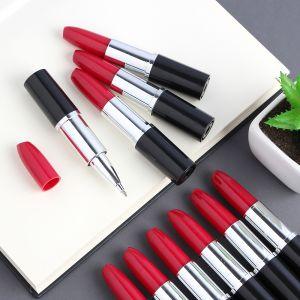 레드 립스틱 볼펜 [제작 대량 도매 로고 인쇄 레이저 마킹 각인 나염 실크 uv 포장 공장 문의는 네이뽕]