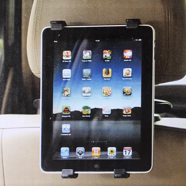 차량 좌석용 태블릿PC 거치대 [제작 대량 도매 로고 인쇄 레이저 마킹 각인 나염 실크 uv 포장 공장 문의는 네이뽕]