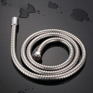 스텐 샤워기 연결호스(1.5M) [제작 대량 도매 로고 인쇄 레이저 마킹 각인 나염 실크 uv 포장 공장 문의는 네이뽕]