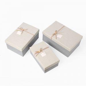 드림 리본 선물상자 3종세트 [제작 대량 도매 로고 인쇄 레이저 마킹 각인 나염 실크 uv 포장 공장 문의는 네이뽕]