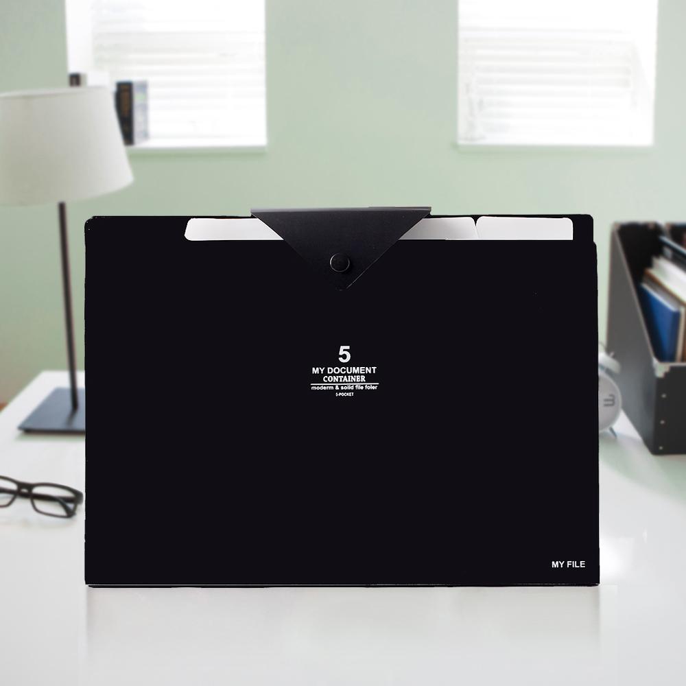 오피스 포켓 도큐먼트 화일(5칸) [제작 대량 도매 로고 인쇄 레이저 마킹 각인 나염 실크 uv 포장 공장 문의는 네이뽕]