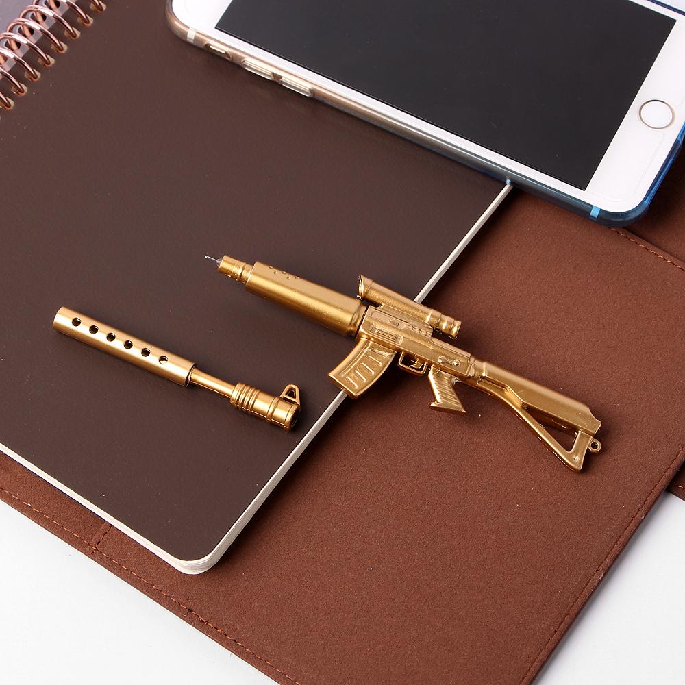 E19Y44 골드 기관총 중성펜