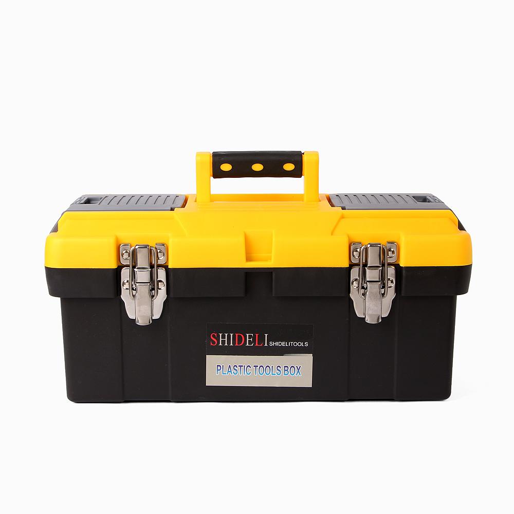 맥스 토탈 2단 공구박스(43x20cm) [제작 대량 도매 로고 인쇄 레이저 마킹 각인 나염 실크 uv 포장 공장 문의는 네이뽕]