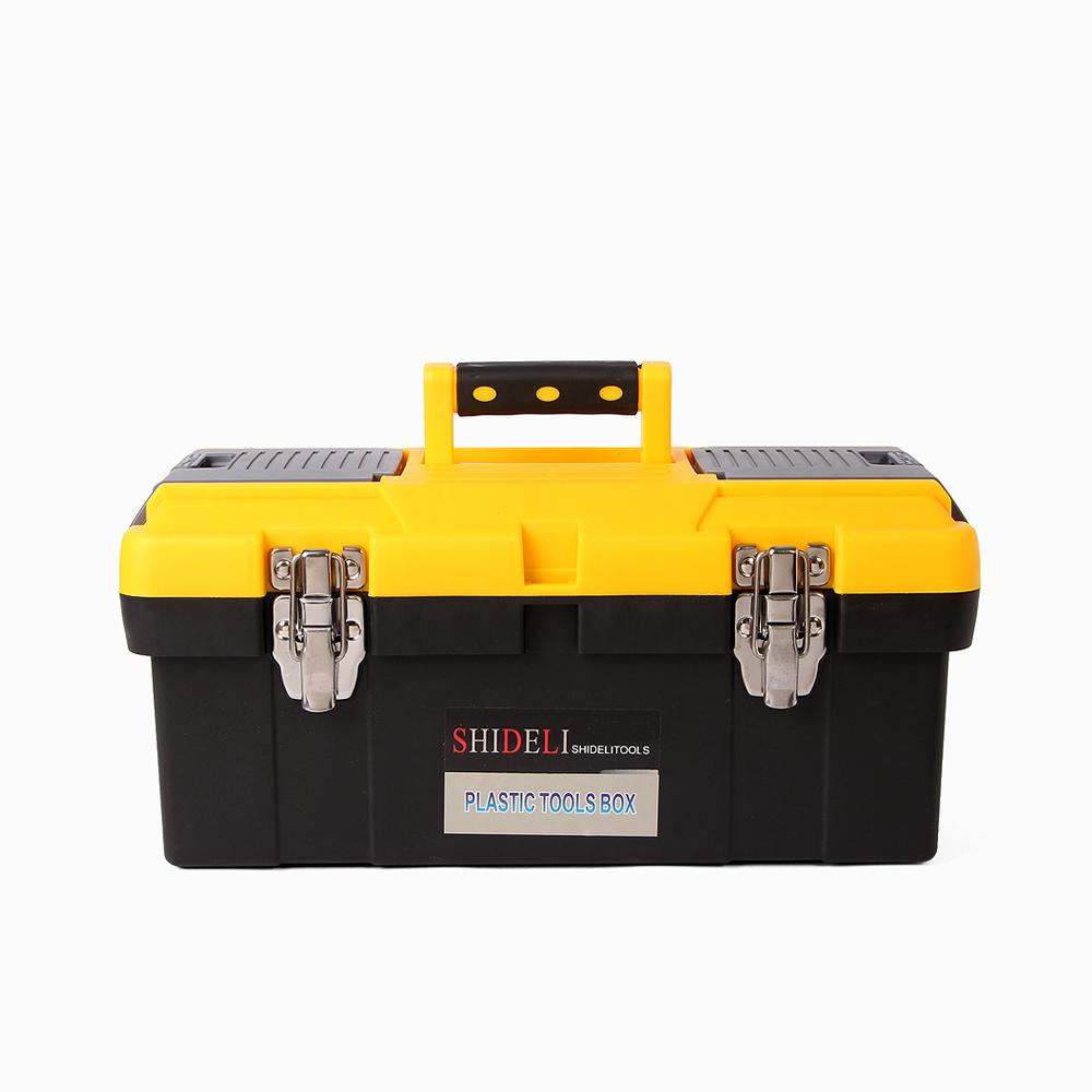 맥스 토탈 2단 공구박스(38x19cm) [제작 대량 도매 로고 인쇄 레이저 마킹 각인 나염 실크 uv 포장 공장 문의는 네이뽕]
