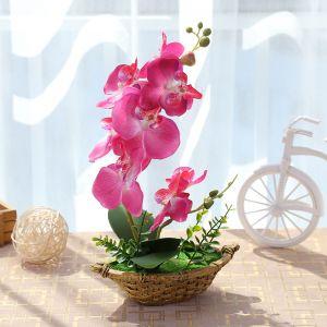 봄하늘 호접란 조화 화분 [제작 대량 도매 로고 인쇄 레이저 마킹 각인 나염 실크 uv 포장 공장 문의는 네이뽕]