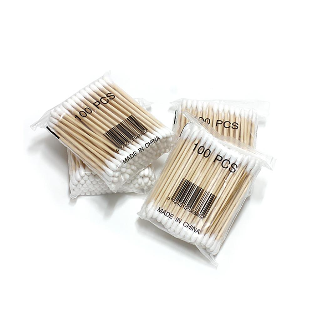100×4 위생면봉/목욕탕 사우나 귀이개 일회용면봉