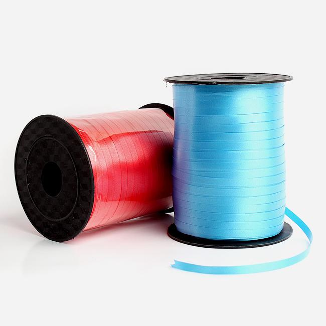 457M 컬링 리본끈(롤) [제작 대량 도매 로고 인쇄 레이저 마킹 각인 나염 실크 uv 포장 공장 문의는 네이뽕]