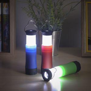 망원경 디자인 LED 캠핑 후레쉬 [제작 대량 도매 로고 인쇄 레이저 마킹 각인 나염 실크 uv 포장 공장 문의는 네이뽕]