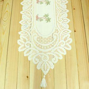 야자수 테이블 러너(180x34cm) [제작 대량 도매 로고 인쇄 레이저 마킹 각인 나염 실크 uv 포장 공장 문의는 네이뽕]