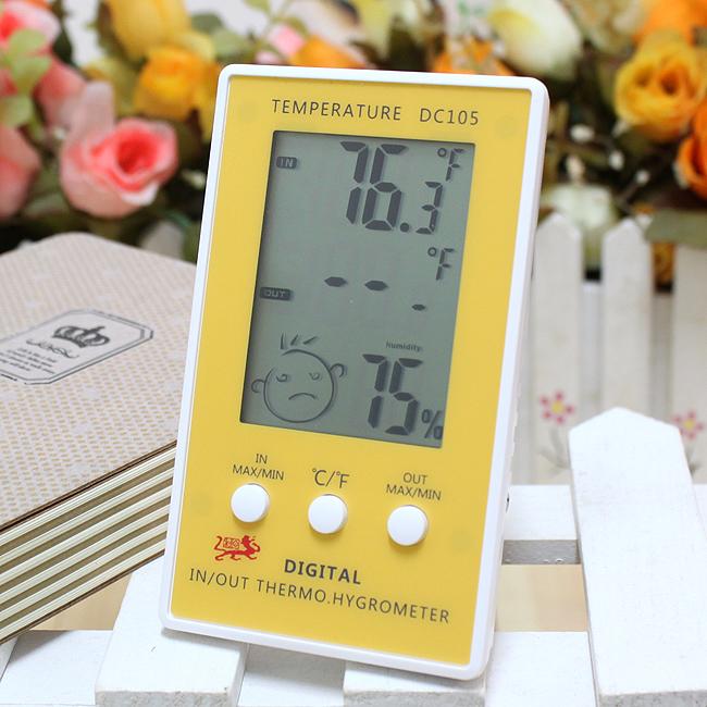 탁상용 디지털 온습도계 [제작 대량 도매 로고 인쇄 레이저 마킹 각인 나염 실크 uv 포장 공장 문의는 네이뽕]