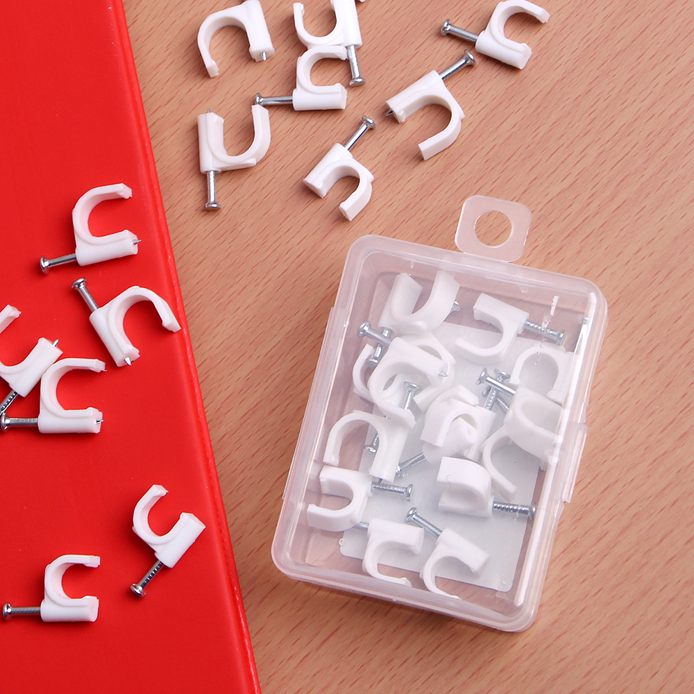 30p 케이블 정리못(혼합세트) [제작 대량 도매 로고 인쇄 레이저 마킹 각인 나염 실크 uv 포장 공장 문의는 네이뽕]