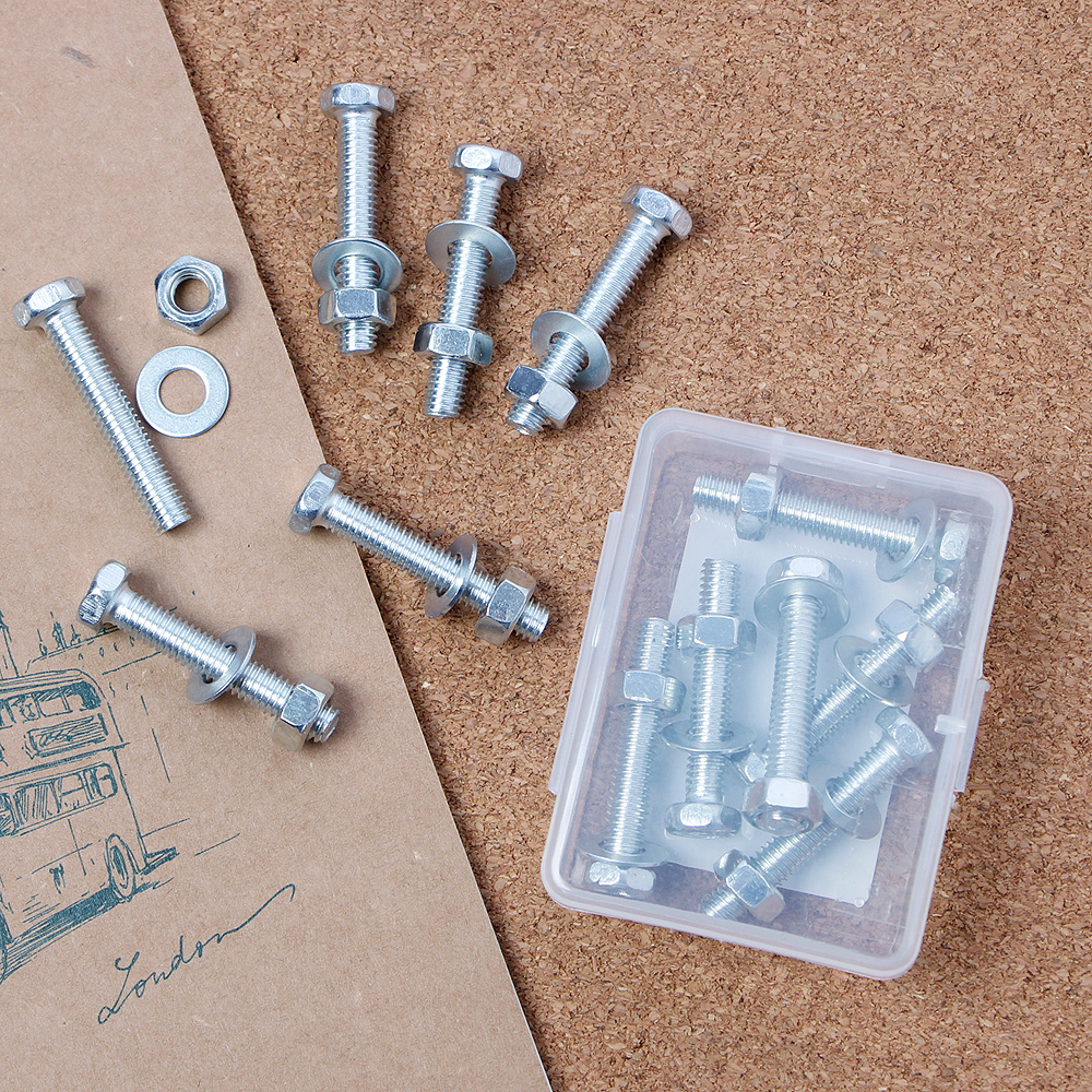 6p 육각볼트(40x6mm) [제작 대량 도매 로고 인쇄 레이저 마킹 각인 나염 실크 uv 포장 공장 문의는 네이뽕]