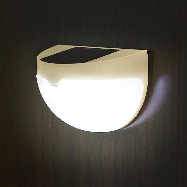 6구 LED 반구형 태양광 벽걸이등 [제작 대량 도매 로고 인쇄 레이저 마킹 각인 나염 실크 uv 포장 공장 문의는 네이뽕]
