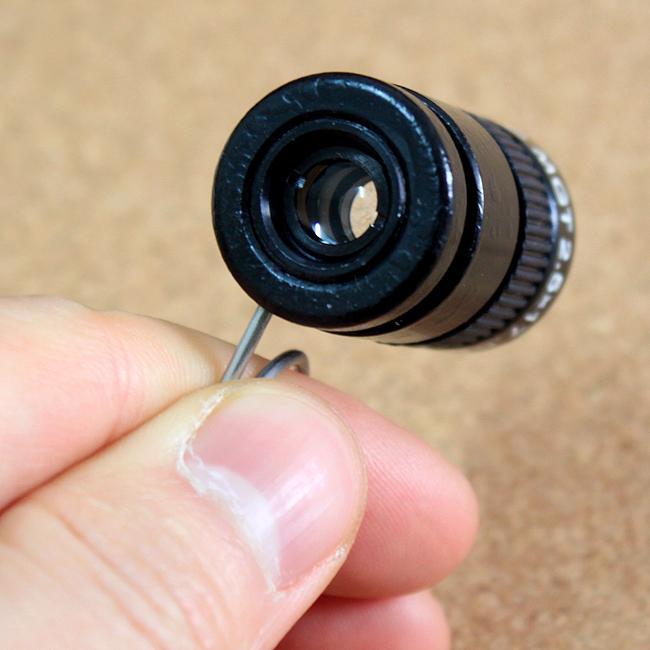 2.5x17.5 미니 망원경 [제작 대량 도매 로고 인쇄 레이저 마킹 각인 나염 실크 uv 포장 공장 문의는 네이뽕]