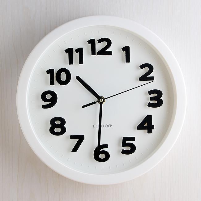 심플 무소음 벽시계/사무실 강의실 벽걸이시계