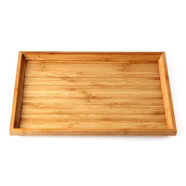 대나무 사각 쟁반(37cm×26cm)