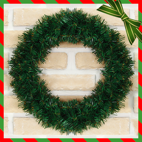 크리스마스 60cm 원형리스 원형트리 벽인테리어