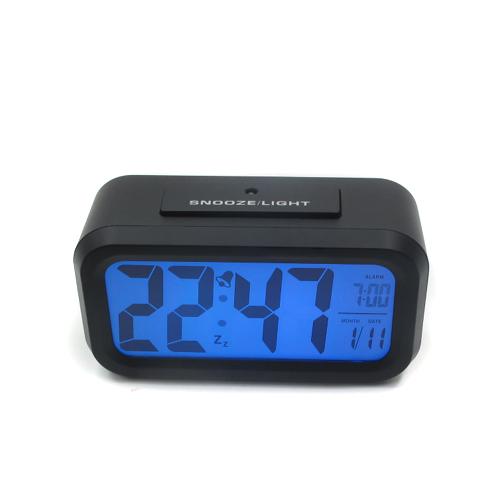 자동 LCD 다기능 탁상시계(13.5cmx7.5cmx4.4cm)
