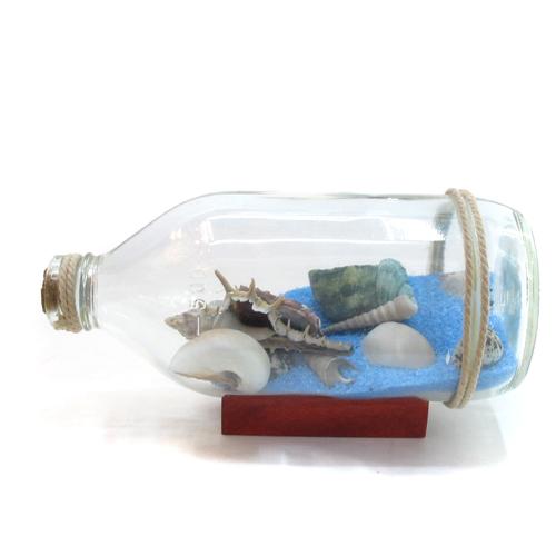 인테리어 보틀 바다 장식C(7cmx9cmx18cm)