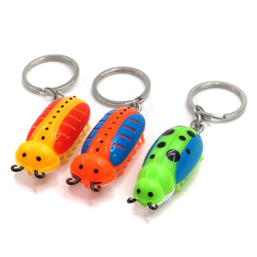 귀여운 곤충 후레쉬 열쇠고리(5cmx2cmx2cm)