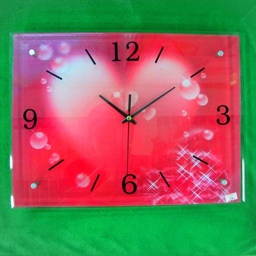 물방울 그림 벽시계(40cmx30cmx2.8cm)