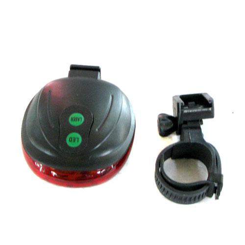 고급 자전거 LED 원형 안전등(8cmx7cmx3cm)