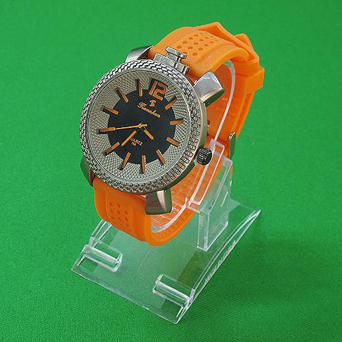 패션 블럭 눈금 포인트 손목시계(26cmx5cmx1cm)
