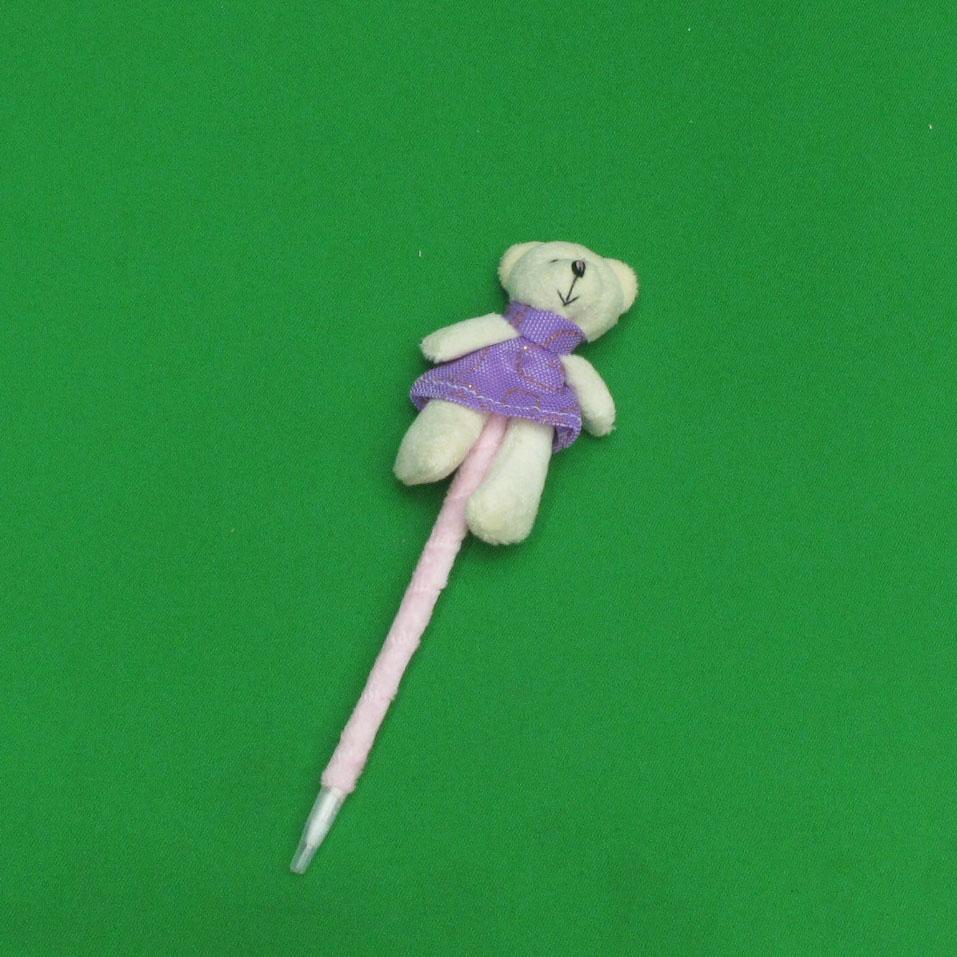 0.7mm 귀여운 곰순이 인형 볼펜 (19.5cmx6.7cm)