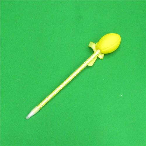 0.7mm 럭비공 달린 원단볼펜(21.5cmx3.5cm)