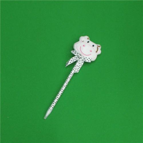 0.7mm 젖소인형 땡땡이 볼펜(20cmx5.5cm)