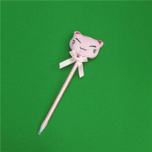 0.7mm 고양이인형 땡땡이 볼펜(20cmx7cm)
