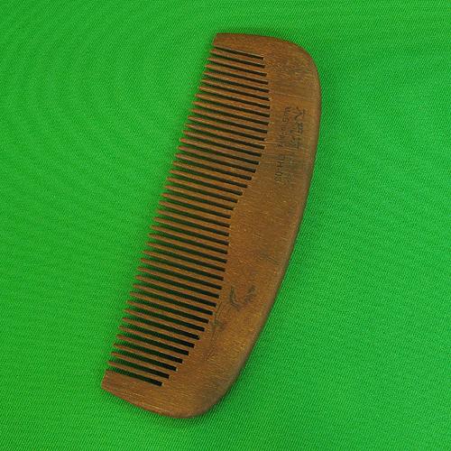 손잡이 없는 나무빗C(15.5cmx5cm)