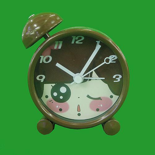 팬시 눈큰아이 탁상시계(大) (7.5cmx8.5cm)