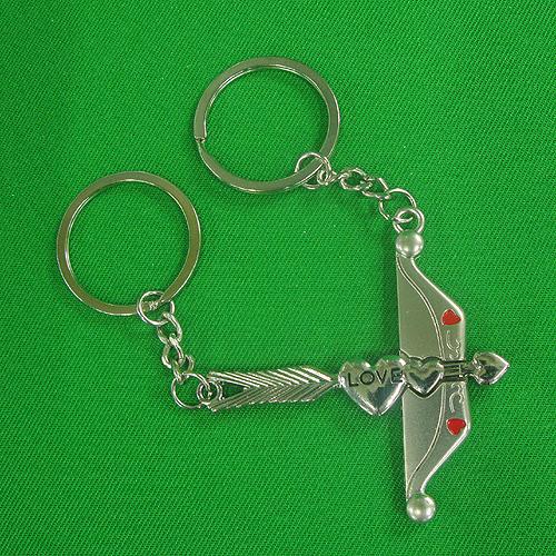 큐피트 화살 커플 열쇠고리(6cmx9.5cm)