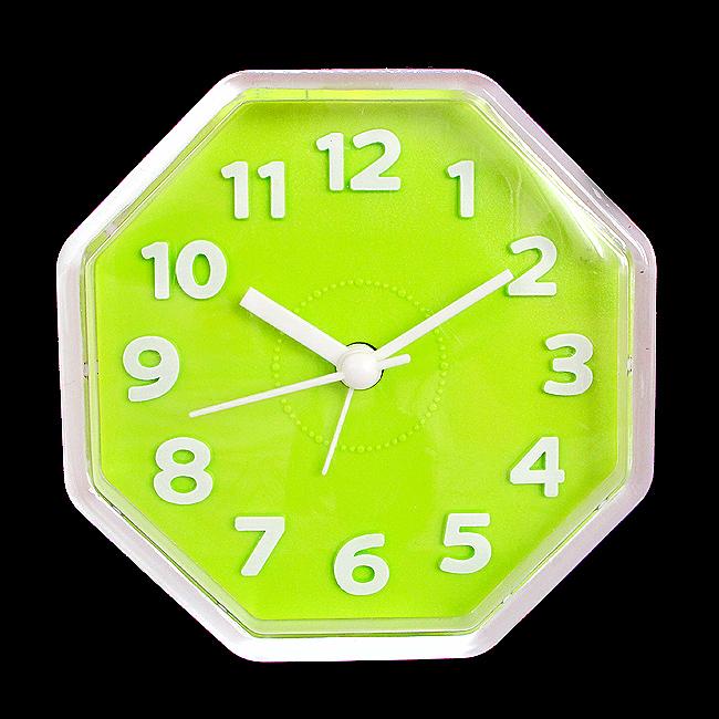 큐티 정팔각 탁상시계