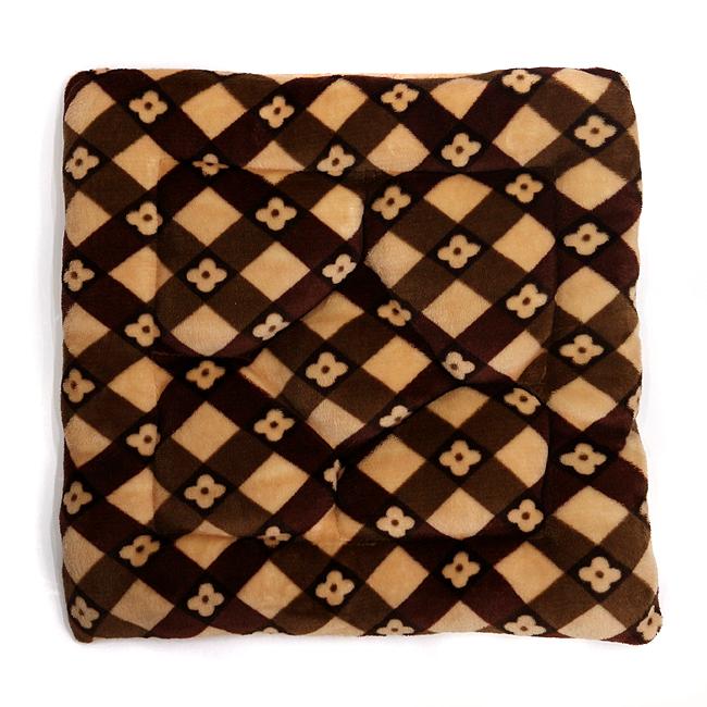 패턴 미니 꽃무늬 의자방석C