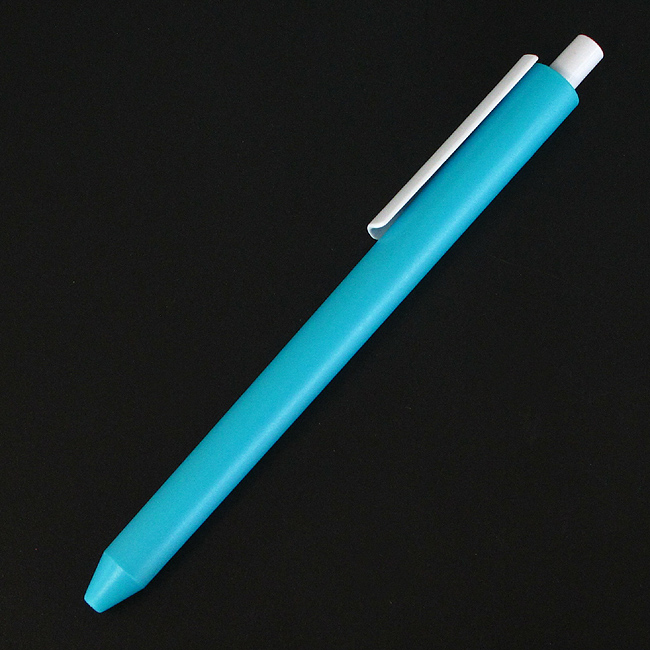 0.7mm 심플 원 컬러 판촉용 볼펜(흑)