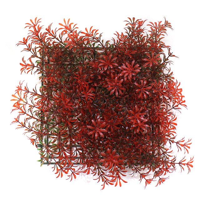 인조 인테리어 국화잎 잔디(레드)