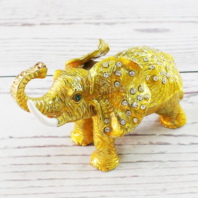 황금 코끼리 장식품