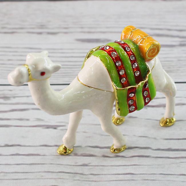 이국풍 흰색 낙타 장식품C
