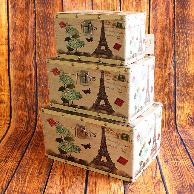 빈티지 에펠탑 스타일 보관함A