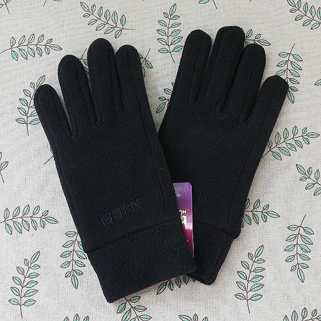 심플 여성 방한장갑(블랙)