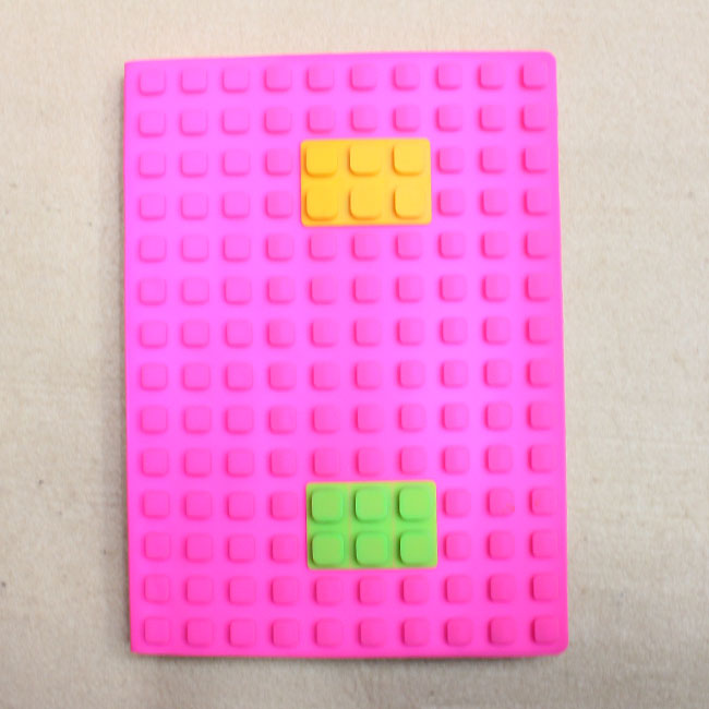 실리콘 블록 노트(핑크)