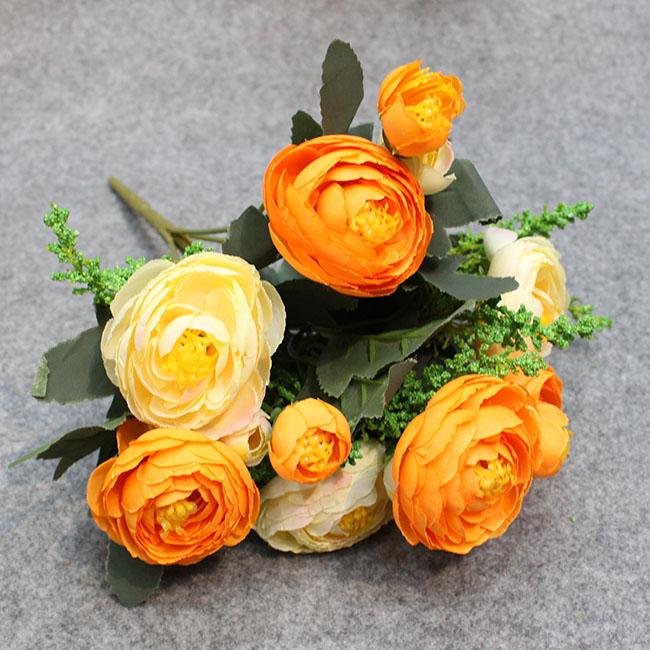 동백꽃부케(오렌지)